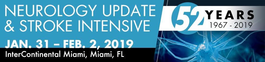Neurology Update and Stroke Intensive 2019