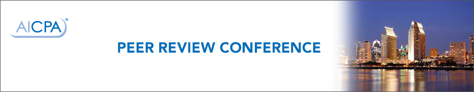 2016 AICPA Peer Review Program Conference