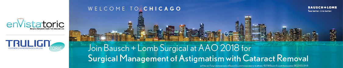 Surgical Management of Astigmatism with Cataract Removal