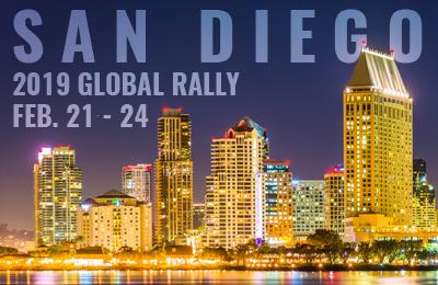 2019 IGA Global Rally in San Diego Feb. 21-24