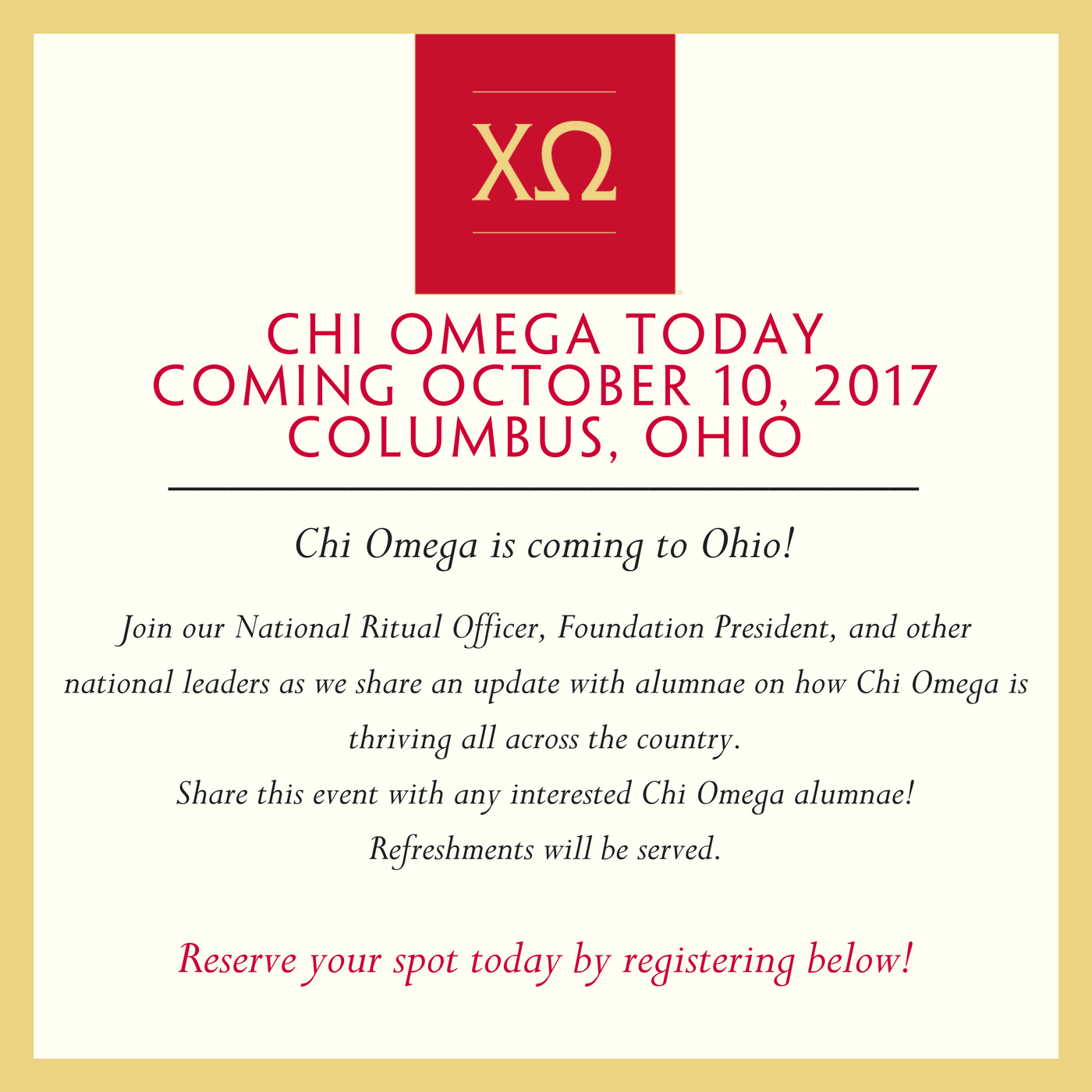 Chi O Today Columbus Summary Page Graphic