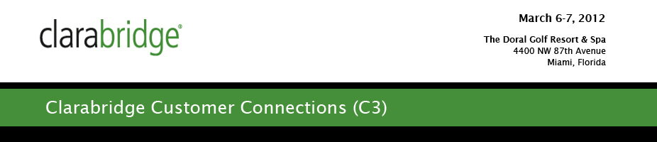 Clarabridge Customer Connections (C3)