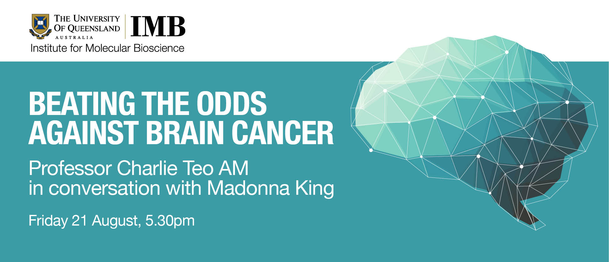 Beating the odds against brain cancer: A/Prof Charlie Teo AM in conversation with Madonna King