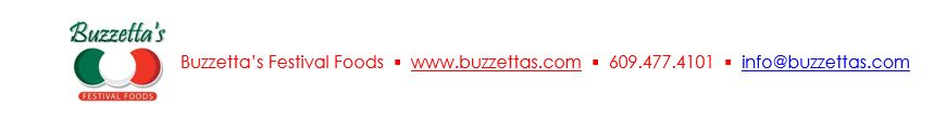 Updated Buzzetta Footer