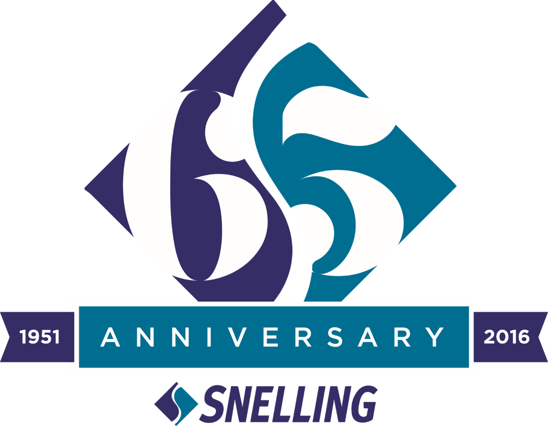 Snelling 65 logo white numbers