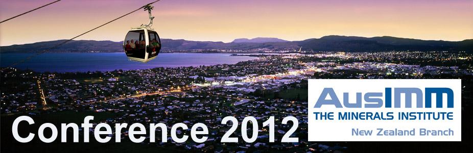 AusIMM NZ Branch 2012 Conference