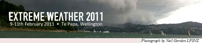 Joint Conference on Extreme Weather 2011