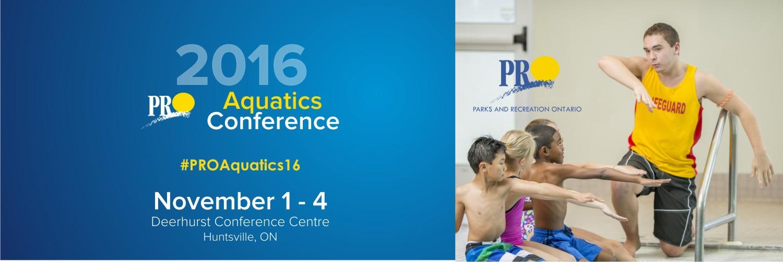 2016 PRO Aquatics Conference