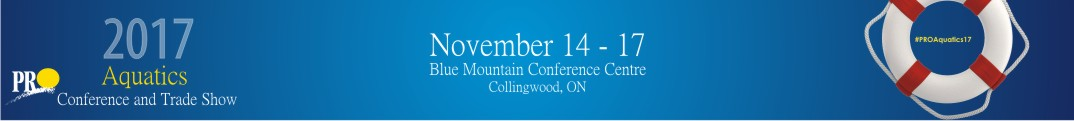 The 2017 Parks and Recreation Ontario Aquatics Conference and Trade Show