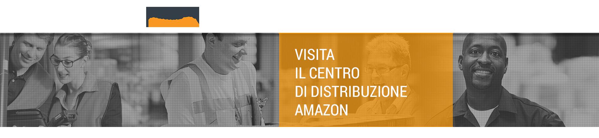 Tour di Amazon di Castel San Giovanni-Italia