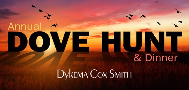 Dykema Cox Smith's Annual Dove Hunt