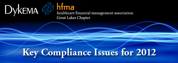 Key Compliance Issues for 2012