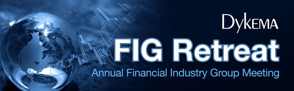 Save the Date - 9th Annual Financial Industry Group Retreat