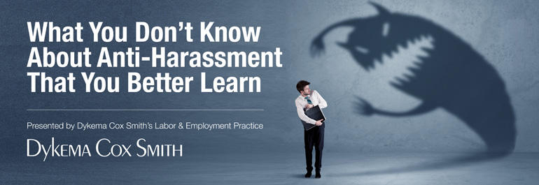 What You Don't Know About Anti-Harassment That You Better Learn