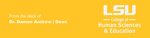 Header, From the desk of Dean