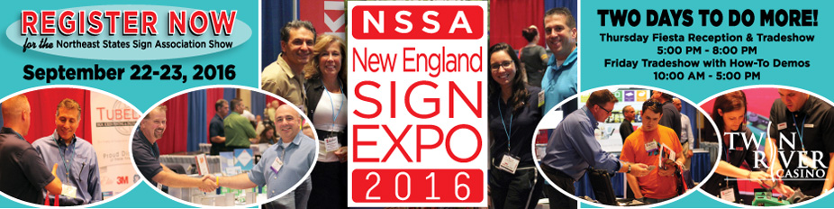 2016 NSSA New England Sign Expo