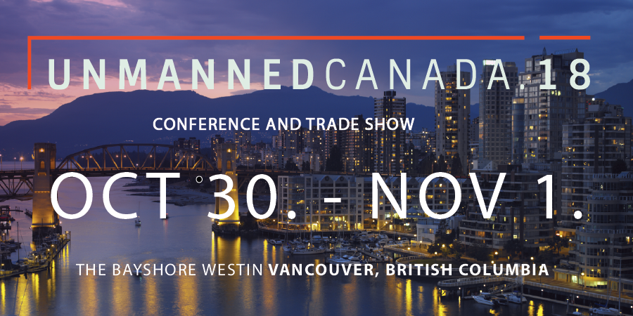 Unmanned Canada 2018 Conference & Tradeshow