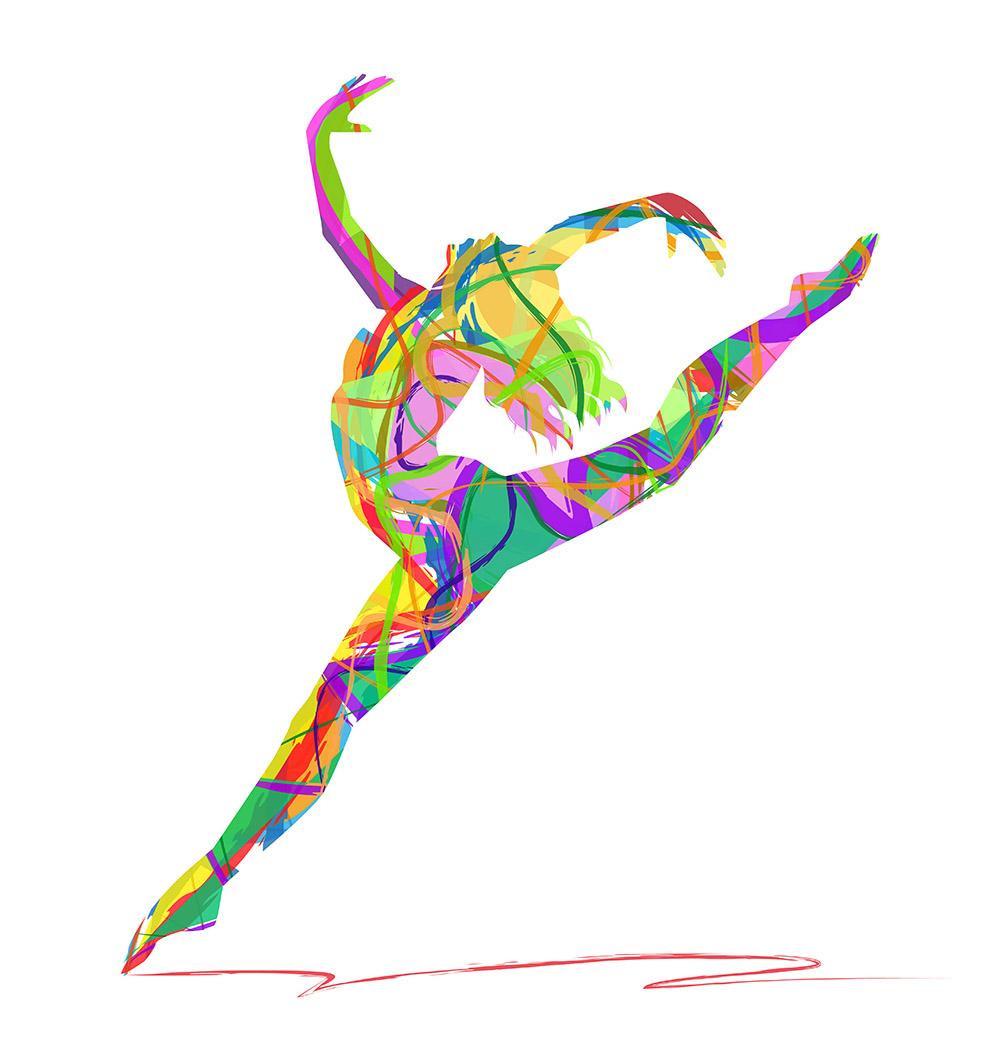 Dancer - multicolor sm