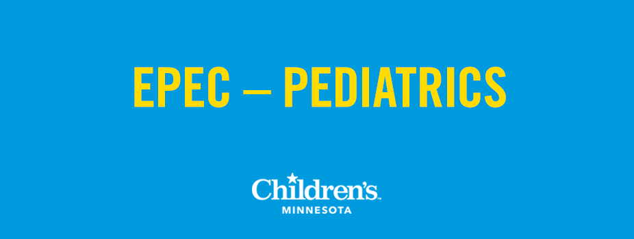 2017 Education in Palliative and End-of-Life Care (EPEC) – Pediatrics