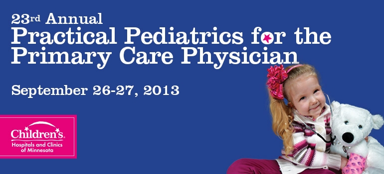 Fall Pediatric Conference cvent banner