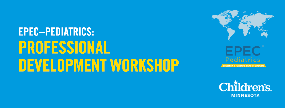 2018 EPEC – Pediatrics: The Professional Development Workshop