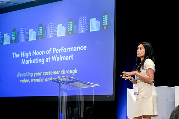 Sarika Doshi leads speaks about marketing at Walmart