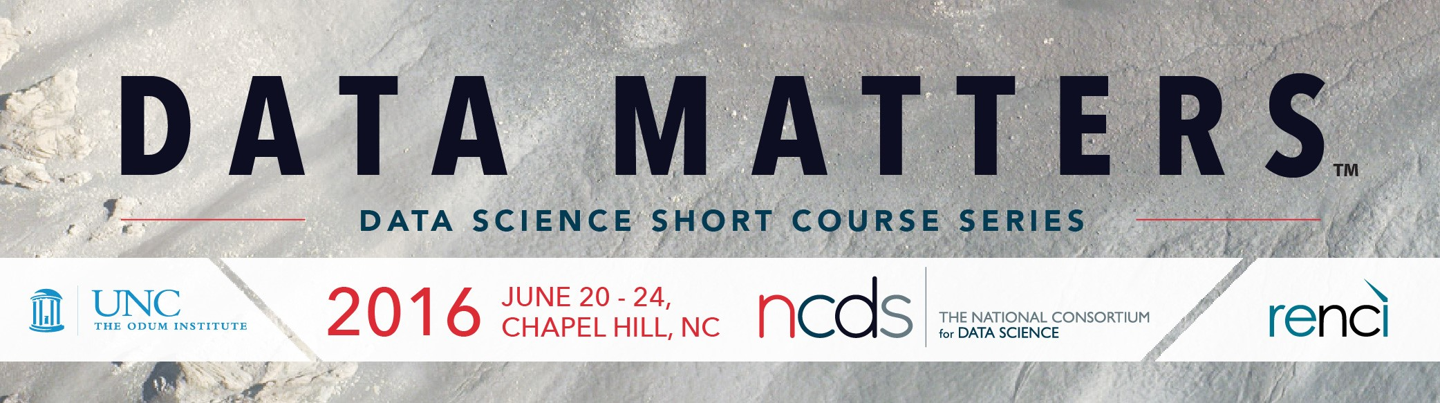Data Matters: Data Science Short Course Series