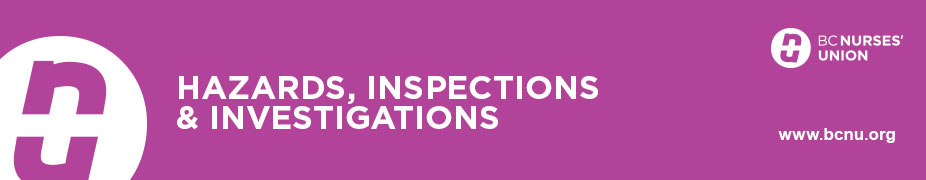 Hazards, Inspections & Investigations