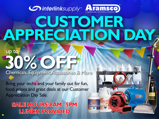 Customer Appreciation Day graphic 2016