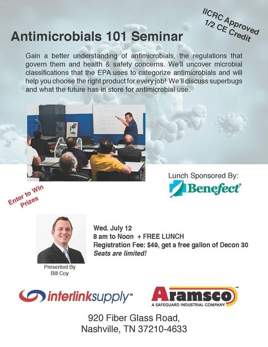 Antimicrobials 101 Seminar - 1 page