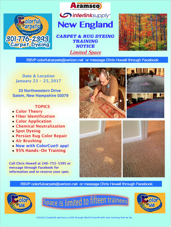 Colorful Carpets educational training 1.23-25.17 S