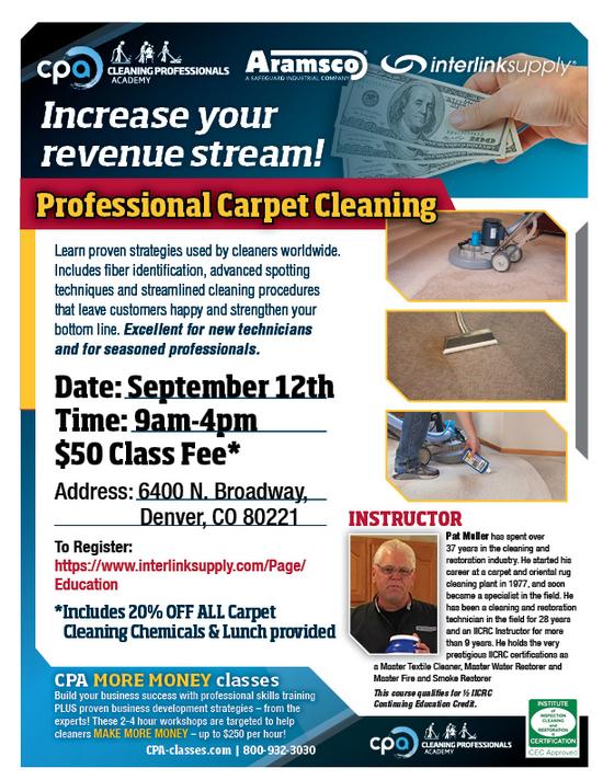 CLeaning Pro Denver Flyer