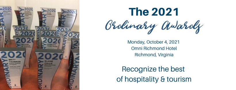 2021 Ordinary Awards banner for nominations