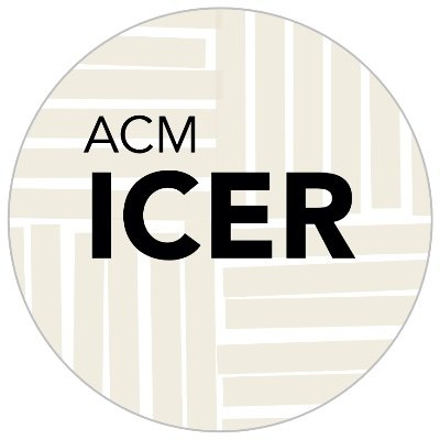 ICER2020 - ACM International Computing Education Research conference