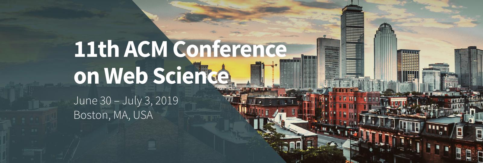ACM WebSci 2019