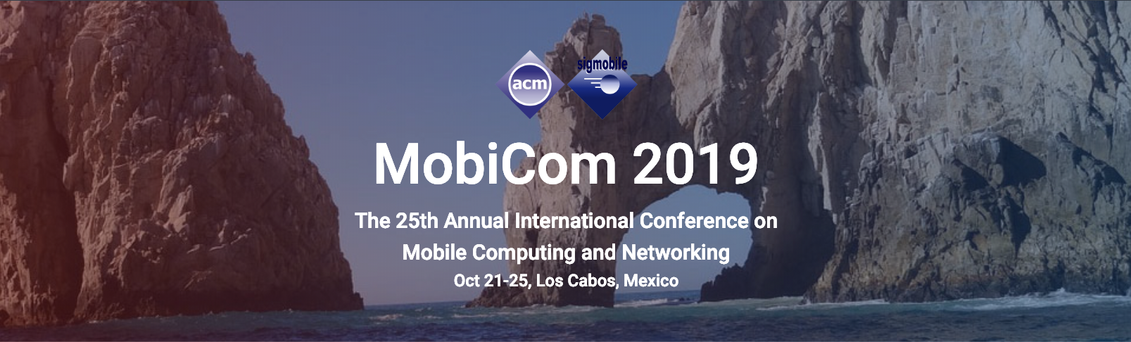 The 25th Annual International Conference on Mobile Computing and Networking (ACM MobiCom)