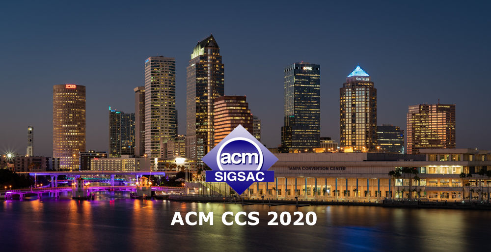 ACM Conference on Computer and Communications Security (CCS 2020)