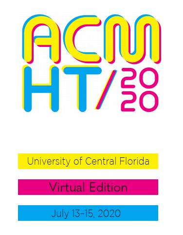 ACM Hypertext 2020 (HT)