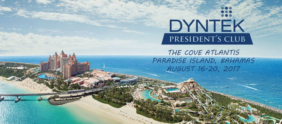 DynTek President's Club 2017