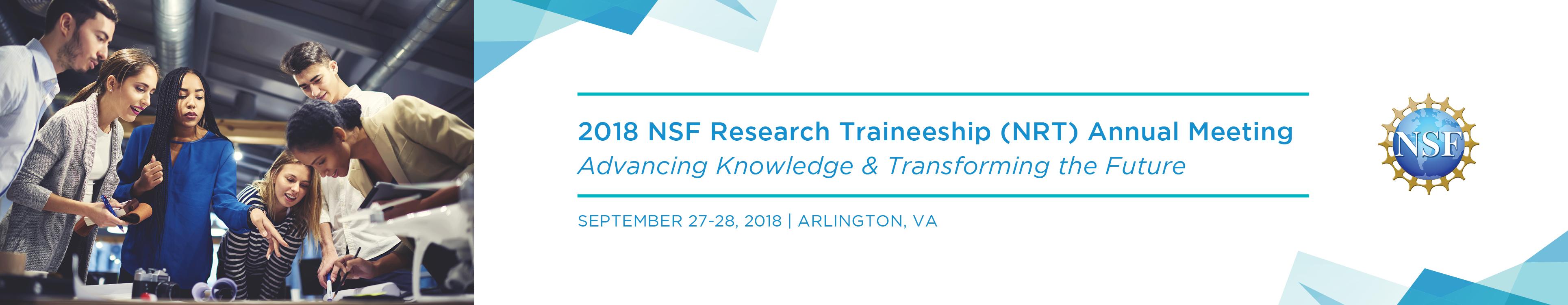 2018 NSF Research Traineeship