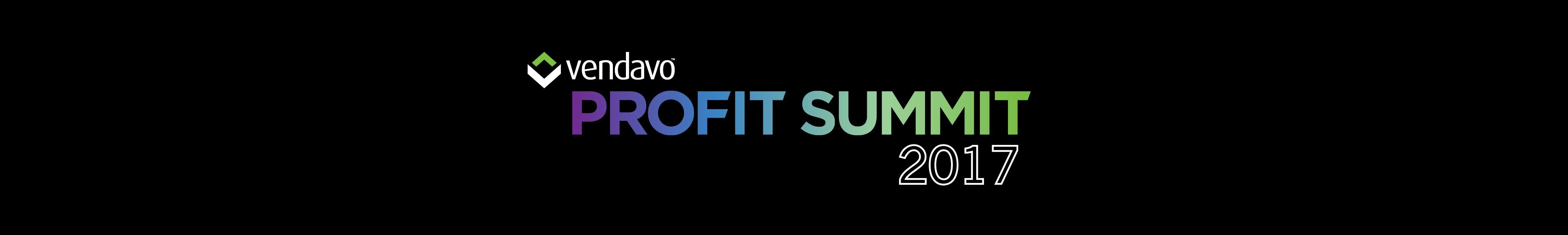 Vendavo Profit Summit 2017