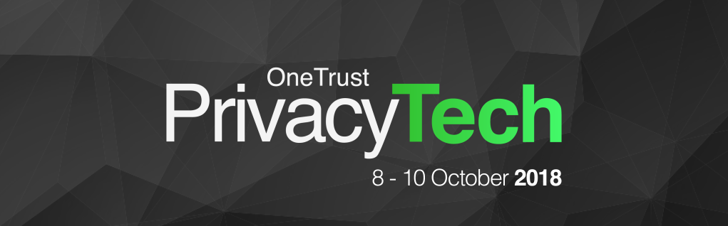 OneTrust PrivacyTECH 2018