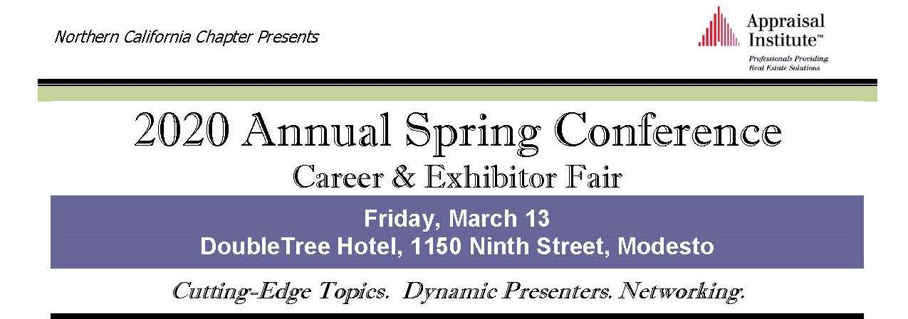 2020 Annual Spring Conference
