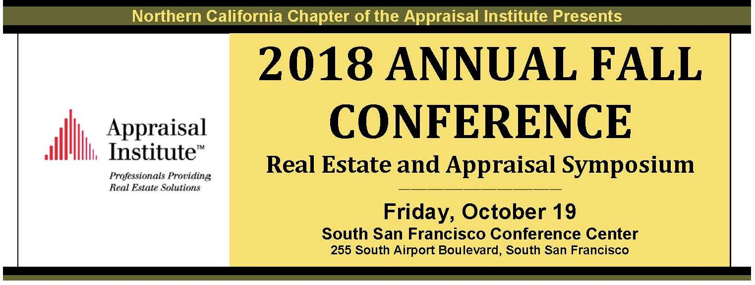 2018 Annual Fall Conference: Real Estate and Appraisal Symposium