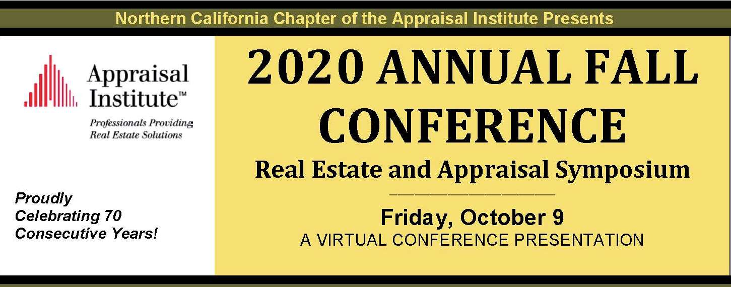 2020 Annual Fall Conference: Real Estate and Appraisal Symposium