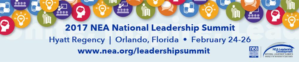 2017 NEA National Leadership Summit