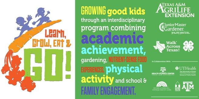 Learn, Grow, Eat & GO! School and Community Partners Training Conroe