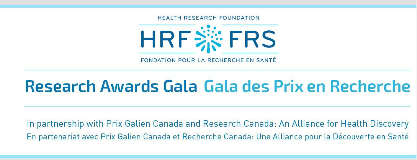 The HRF Gala Awards Dinner in partnership with Prix Galien Canada and Research Canada