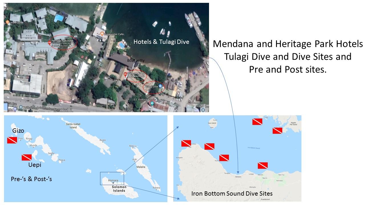 dive sites solomon islands