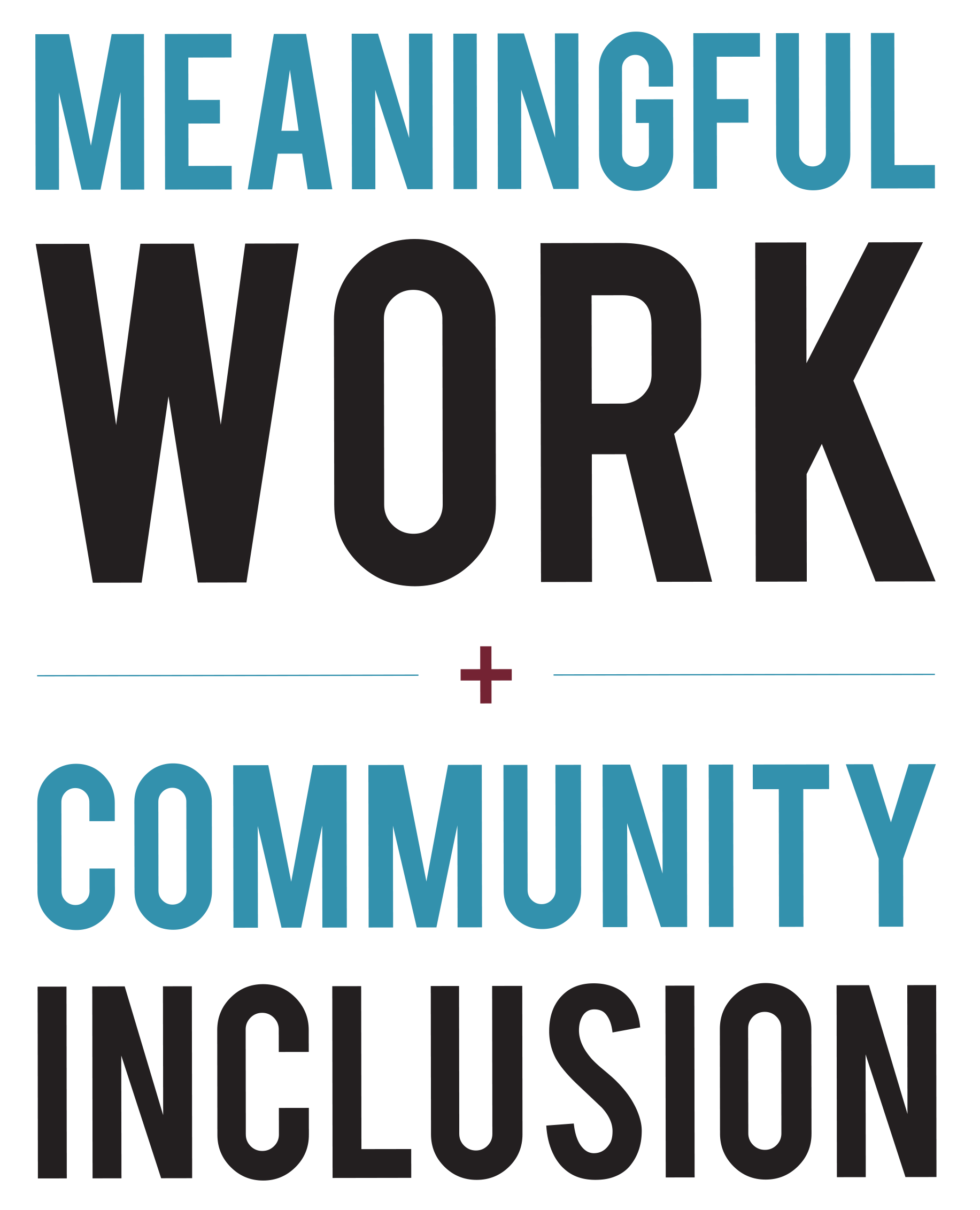 Meaningful Work and Community Inclusion